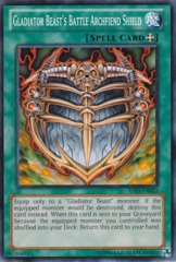 Gladiator Beast's Battle Archfiend Shield - AP03-EN022 - Common - Unlimited Edition