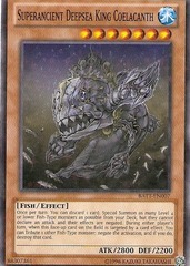 Superancient Deepsea King Coelacanth - BATT-EN007 - Starfoil Rare - Unlimited Edition