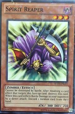 Spirit Reaper - BATT-EN013 - Starfoil Rare - Unlimited Edition