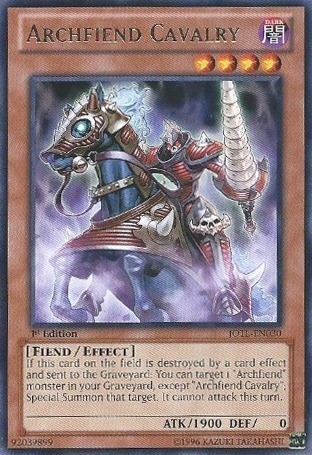 Archfiend Cavalry - JOTL-EN030 - Rare - Unlimited Edition