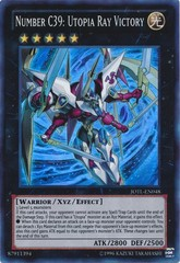 Number C39: Utopia Ray Victory - JOTL-EN048 - Super Rare - Unlimited Edition