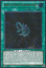 Rank-Up-Magic Numeron Force - JOTL-EN059 - Ultimate Rare - Unlimited Edition