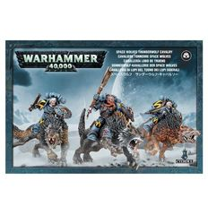 Space Wolves Thunderwolf Cavalry ( 53-09 )