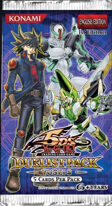 Yu-Gi-Oh Duelist Pack #10: Yusei Fudo #3 1st Edition Booster Pack