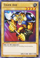 Tiger Axe - LCJW-EN008 - Common - 1st Edition