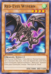 Red-Eyes Wyvern - LCJW-EN049 - Common - 1st Edition