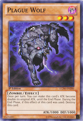 Plague Wolf - LCJW-EN200 - Common - 1st Edition