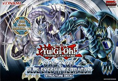 Saga of Blue Eyes White Dragon Structure Deck 1st Edition Box
