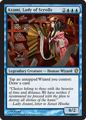 Azami, Lady of Scrolls on Channel Fireball