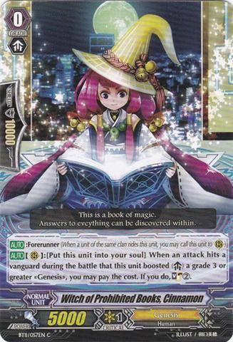 Witch of Prohibited Books Cinnamon - BT11/057EN - C
