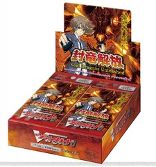 Cardfight!! Vanguard VGE-BT11 Seal Dragons Unleashed Booster Box