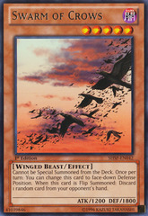 Swarm of Crows - SHSP-EN042 - Rare - 1st Edition