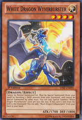 White Dragon Wyverburster - SHSP-EN093 - Common - 1st Edition