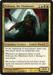 Oversized - Nekusar, the Mindrazer on Channel Fireball