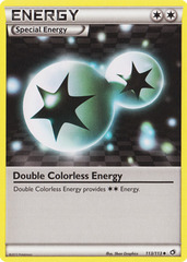 Double Colorless energy - 113/113 - Uncommon