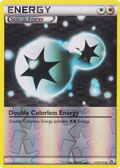 Double Colorless energy - 113/113 - Uncommon - Reverse Holo on Channel Fireball