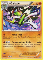 Gallade - 81/113 - Rare on Channel Fireball