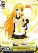 PD/S22-E018 C Kagamine Rin