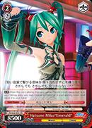 Hatsune Miku Emerald - PD/S22-E051 - RR