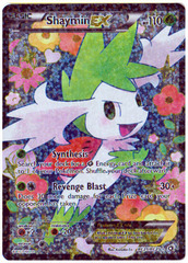 Shaymin EX - RC21/RC25 - Full Art Ultra Rare