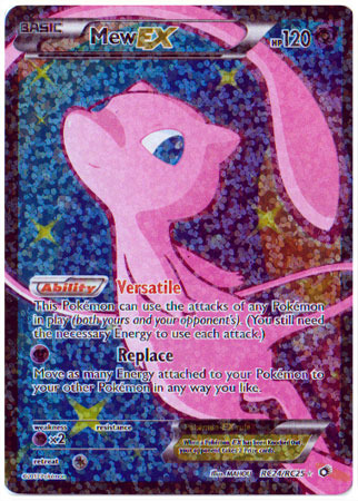 Mew-EX - RC24/RC25 - Full Art