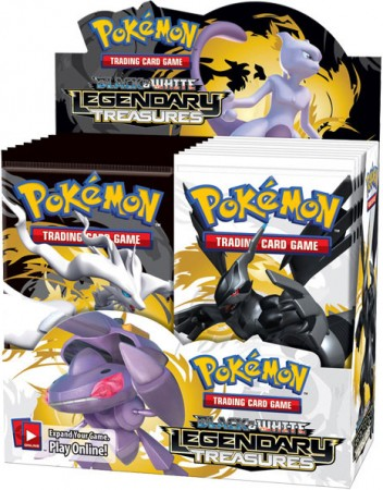 Pokemon Black & White BW11 Legendary Treasures Booster Box