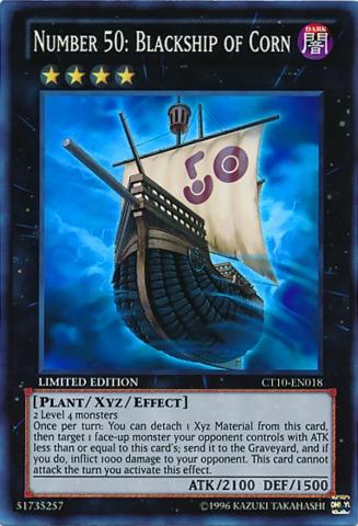 Number 50: Blackship of Corn - CT10-EN018 - Super Rare - Limited Edition