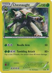 Chesnaught - 5/39 - Holo on Channel Fireball