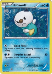 Oshawott - BW08 - Promotional on Channel Fireball