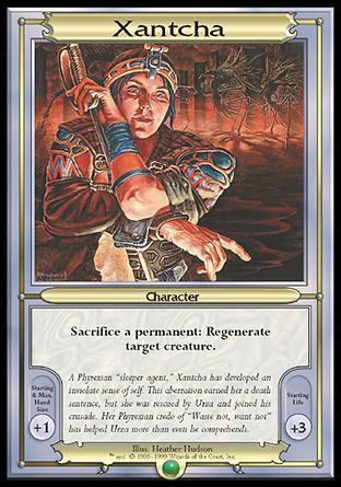 Xantcha MTG Vanguard (Oversized) Card