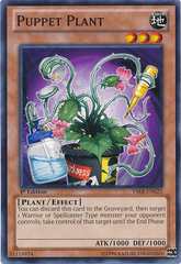 Puppet Plant - YSKR-EN022 - Common - 1st Edition on Channel Fireball