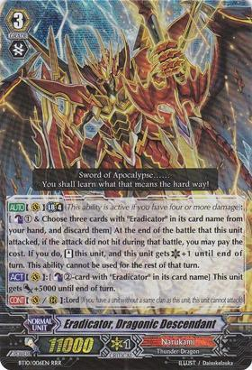 Eradicator, Dragonic Descendant - BT10/S06EN - SP