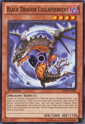 Black Dragon Collapserpent - SHSP-EN096 - Common - Unlimited Edition