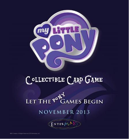 My Little Pony Collectible Card Game Rarity & Rainbow Dash Theme Deck