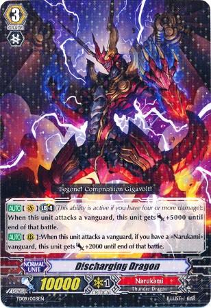 Discharging Dragon - TD09/003EN - TD Rare - Foil