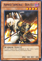 Armed Samurai - Ben Kei - Purple - DL14-EN003 - Rare - Unlimited Edition on Channel Fireball