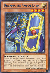 Defender, the Magical Knight - Blue - DL14-EN006 - Rare - Unlimited Edition on Channel Fireball