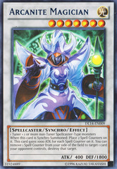 Arcanite Magician - Blue - DL14-EN009 - Rare - Unlimited Edition on Channel Fireball