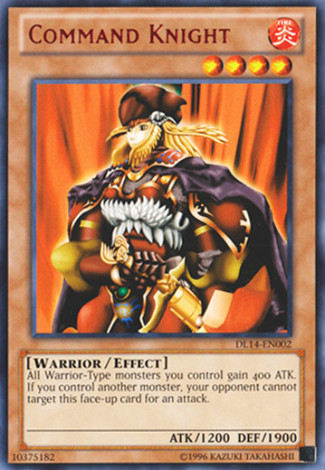 Command Knight - Red - DL14-EN002 - Rare - Unlimited Edition